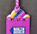 Scrapbook tags / scrapbooking tags