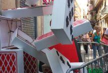 Garcia festival in Barcelona / Street festival in Barcelona