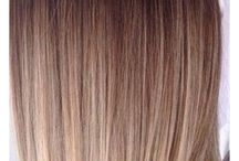 hair color  ombre