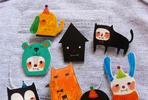 Puppet/Brooches