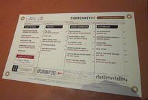 Menus/Restaurant Graphics