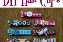 Hair bows / by Patsy Hastings