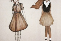 Learning to draw clothes / by Shivika Asthana