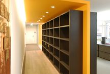 Office storage, shelving