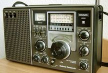 Old school radio & micro