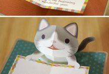 gift card#cat#cute