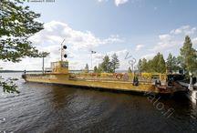 Kainuu-Manamansalo / Saari Oulunjärvessä