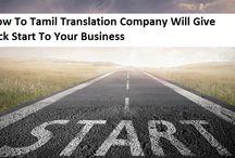 Tamil Language Translation Resources