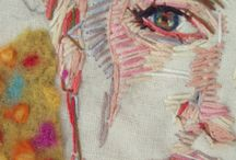 EXPRESSIVE I Textiles / Using textiles, embroidery in expressive work / by St Mungo Art and Design
