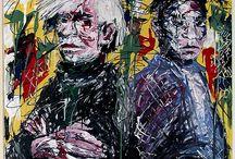 Pop Art Andy Warhol-Jean Michel Basquiat-Wassily Kandinski