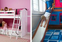 Inspiring Kids Bedrooms / Indoor play - check! Quality furniture - check! Happy kids - check!