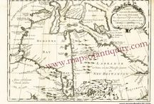 Antique Maps and Prints of Canada