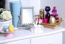 Decoração: Penteadeiras / Visite www.thyaraporto.com/blog e confira ótimas dicas para decorar a sua casa.