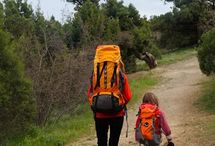 Hiking with kids / Tips to make life hiking with kids as easy as possible.  From what to bring to what to know and everything in between.