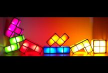 Tetris Light Fans