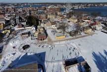 Portsmouth in the Winter / Portsmouth, NH is a beautiful place to visit in the winter! Here are articles and events about winter activities.