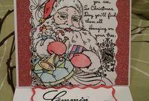 A. Itsetehdyt Joulukortit, ei muiden lisäyksiä / omia tekeleitä
