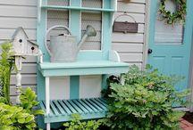 Садовые идеи / Интересные идеи для сада, дачи и загородного дома.