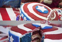 comic book themed cakes