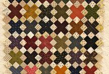 4-patch and 9-patch quilts / Квилты с 4 и 9-частными блоками