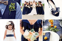 Navy weddingggg / Beautiful navy wedding theme ideas!! Sophisticated for any wedding venue :)