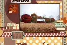Scrapbooking - Fall Colors! / Scxrapbooking fall... probably my favorite season to scrapbook.  So many great colors! / by Kathleen Ordiway