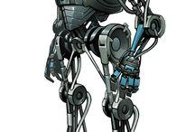 Concept. Robots.