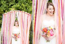   wedding backdrops   / Ideas and inspiration for creating wedding backdrops