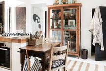 Interior decor bohemian style / Decorating your home the bohemian way. Art. Pottery. Ceramics. Gardening. Living space.