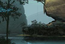 Scenery & background