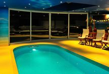 Stunning Curved Glass Doors for indoor swimming pool extension in Hertfordshire! / Stunning Curved Glass Doors for indoor swimming pool extension in Hertfordshire!  Read more here: http://www.balconette.co.uk/CaseStudy.aspx?sID=41