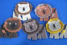 Animals / Felt Board Patterns and Sets