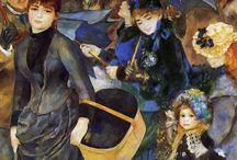 Pierre Auguste Renoir - Umbrellas, 1883