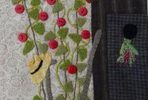 grandma's garden scrap quilt