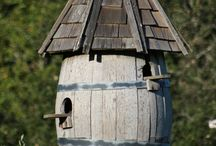 Vogelhäuser + Insektenhotels