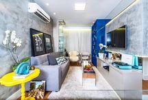 50m2 apartment for a couple / Small apartment with Andrea de Paula and Gabriela Nobrega project!