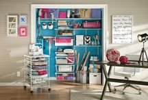 Crafting & Hobby storage / Get inspired to create functional and practical storage solutions for your craft and hobby items. Great for home offices too!
