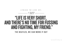 With the Beatles / by Lily Travis