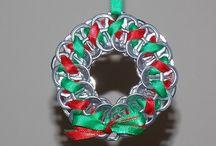 Upcycled Christmas craft