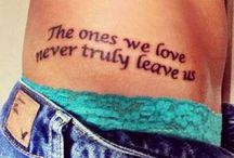 Scritte tattoo
