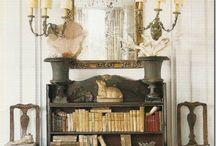 Arrangements, Walls Bookcases