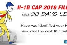 H1B Cap 2019 Red Alerts / Here we offer H1B cap 2019 real time alerts every time an action is required for the timely filing of H1B petitions with the USCIS.