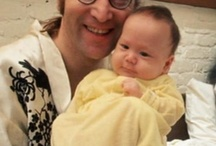 Beautiful Dad and Second Son Sean Lennon