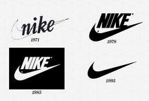 evolution du logo nike
