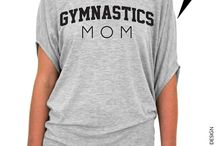 Mother of gymnast