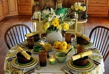 Tablescapes / by Paulette Lee