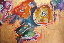 Personal art works - Papiu Greti