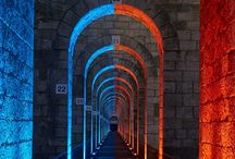 Civic 조명 디자인 / Civic Lighting Design - bridges, tunnels, streets, etc.