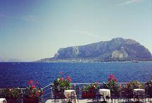 Mare in Sicilia / Il mare siciliano, le vedute e molto altro ancora. Scopri anche le spiagge ed il mare più bello della Sicilia: http://www.vacanzesiciliane.net/palermo-spiaggia-mondello/