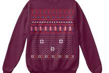 Ugly Christmas Gildan Clothes / Ugly Christmas Gildan Sweatshirt Sweater Unisex